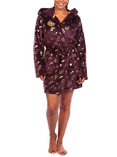 HARRY POTTER - Robe de Chambre - Femme - Violet - Large