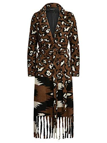 APART Mantel aus Teddystoff, Toffee, 40