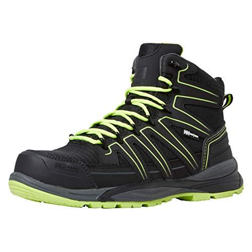 Helly Hansen Women's Chelsea Boot, Black with Green, US:9