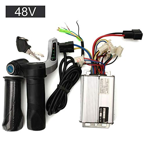 TXYFYP 36V48V 1000W Bürste für Elektromotorsteuerung Bürste Gleichstrommotor Drehzahlregelung für Bürstensteuerung für elektrische Dreiradroller