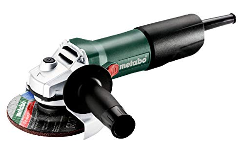 Metabo 603608000 Winkelschleifer W 850-125 Schleifscheiben Ø 125 mm, 850 W, Kabellänge 2,5 m, inkl. Zusatzhandgriff