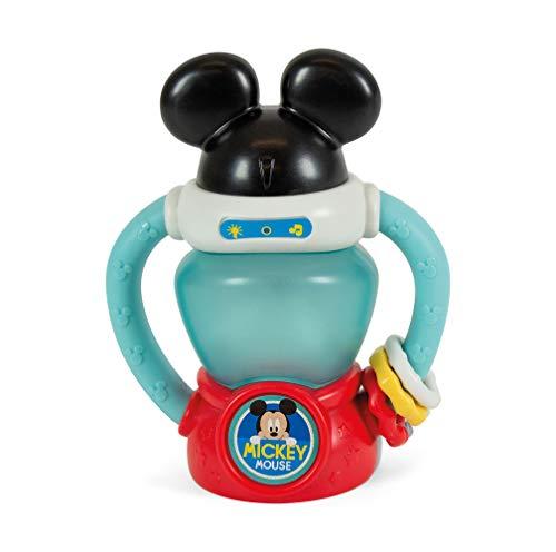 Clementoni-17335 - Baby Mickey - Linterna Interactiva - juguete bebé Disney a partir de 10 meses