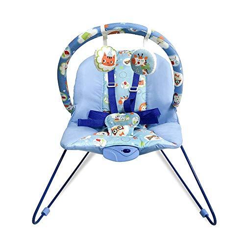 Cadeira De Repouso Musical Lite Azul Baby Style