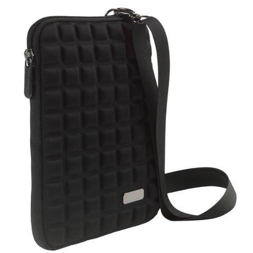 Pouch TC7BL inkl. Schulter-Tragegurt und Zubehörfach für Tablet und Apple iPad mini bis 20,1 cm (7 Zoll) schwarz
