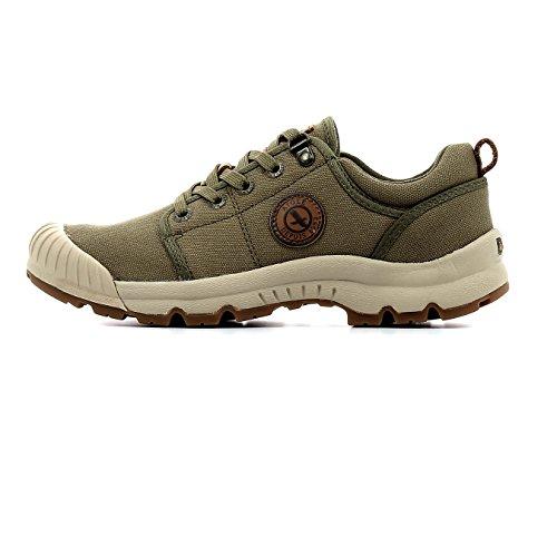 Aigle Tenere Light Low CVS W, Chaussures de Randonnée Basses, Vert (Kaki), 35 EU