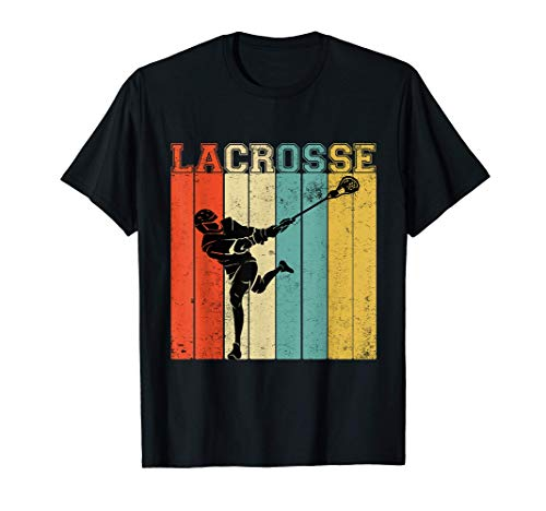 Lacrosse Sport Stick Funny Lax Player Love Perfect Gift Idea T-Shirt