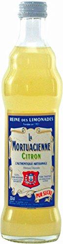 Zitronen Limonade aus Frankreich, La Mortuacienne, 33 cl, Reine des Limonades, La Mortuacienne, Citron, pur sucre