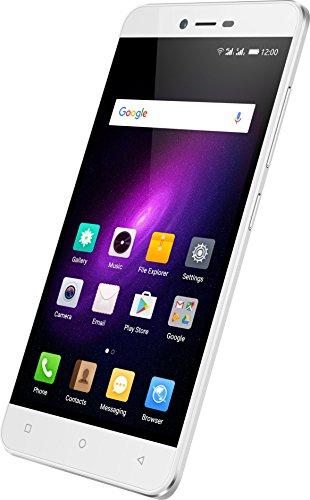 Mobistel 7365-W Cynus E8 Smartphone (16GB, 13MP Kamera, Android 6.0, 12,7 cm (5 Zoll weiß