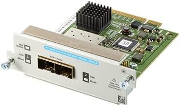 HP J9731A Expansion Module, 2 X SFP+ 2 X Expansion Slots