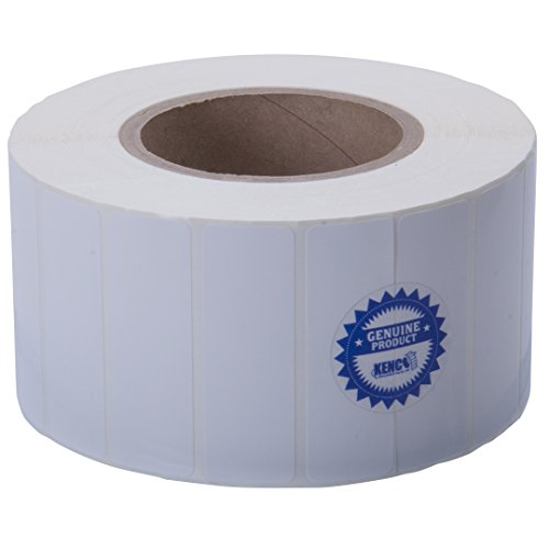 Kenco Premium Inkjet 3? X 1? Rectangle High Gloss Paper Roll-Fed Inkjet Labels. Compatible with Primera Color Label Printers and Many Other Printer Brands. Supplied 2500 Labels on a 3? core.
