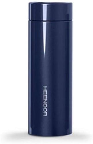 HOOPOO Bouteille Deau Coupe Thermos Femme Authentique Haut De Gamme Adulte Marque Mode portable Tasse Compacte Vide 304 en Acier Inoxydable (Couleur   1)