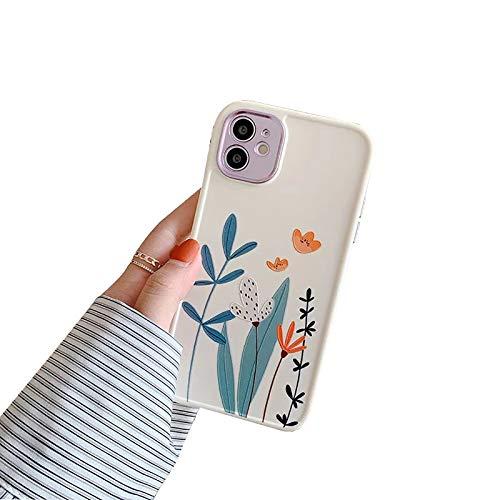 XWCG Funda Compatible con iPhone 12/12 Mini/12 Pro MAX TPU Silicona Fundas Carcasa con Moda Patrón Anti Rasguños Anti Arañazos [Protección de La Cámara] Back Cover,1,Xsmax