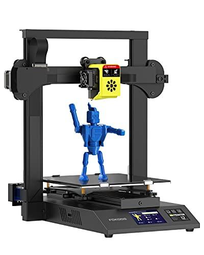 Fokoos Impresora 3D Odin-5 F3 Plegable 99% Premontada Funciona con TPU/PLA/PETG Accionamiento Directo 0.1mm Alta Precisión Doble Eje Z Pantalla Táctil Código Abierto 235x235x250mm