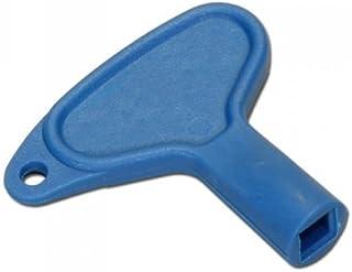 Upmann Llave para cuadrado plástico, 1pieza, azul, 20150
