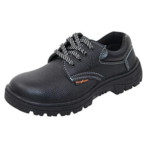 [La Mone] [ラモーン] 安全靴 メンズ ローカット 作業靴 あんぜん靴 鋼先芯 防水 静電 44