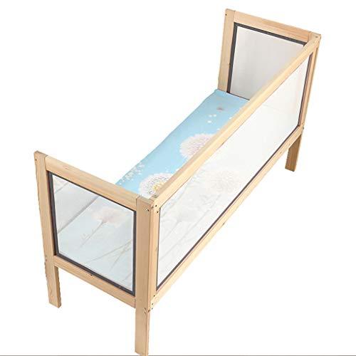Baby safety bed guardrail BarrièRe De Lit CôTé BarrièRe Haute Pare-Chocs MatéRiau en Bois Massif Garde-Corps pour Lit d'enfant Design Simple Et Moderne , Convient Aux Enfants De Plus De 0 Ans