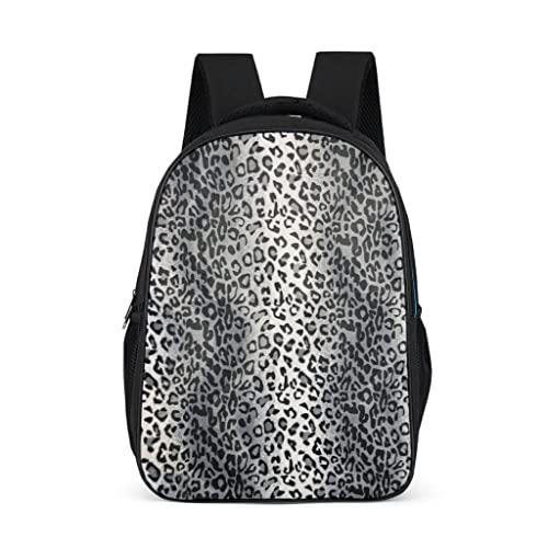 Bairizumeg Zainetto per bambini, colore grigio leopardato a righe, Grigio acceso., taglia unica,