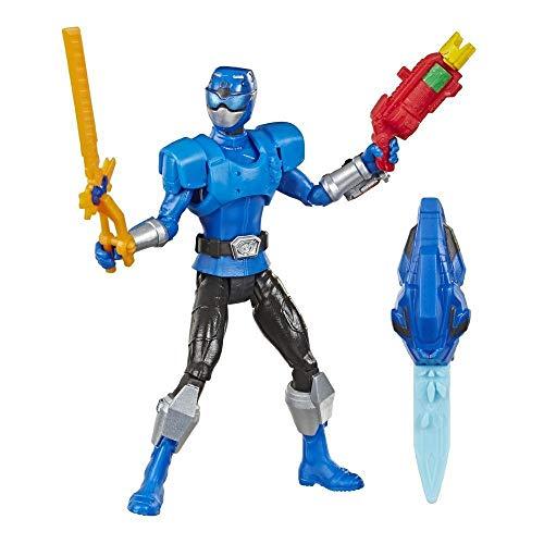 Hasbro Power Rangers - Ranger Blu Beast-X Morphers action figure giocattolo da 15 cm, ispirata alla serie TV