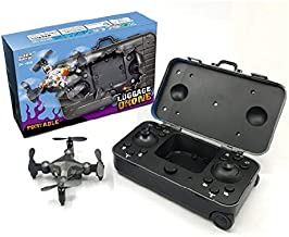 JinJin Foldable Quadcopter Drone | Selfie, Gesture, FPV Camera, Wifi, Headless Mode, Headless Mode,360 Tumbling,Air Pressure Fixed Height,Folding Deformation,Remove Control (gray)