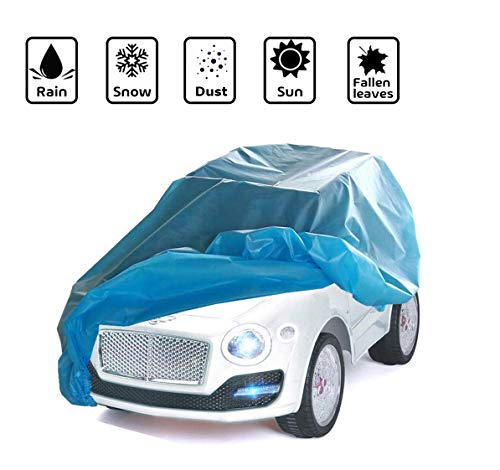 Life Girl Star Large Kids Ride-On Toy Car Cover, Outdoor Wrapper for Electric Battery Powered Children Wheels Toy Vehicles ,Universal Fit, Water Resistant,UV Rain Snow Protection
