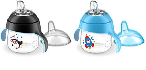 Copo Pinguim 200ml Kit com 2 Azul Philips Avent
