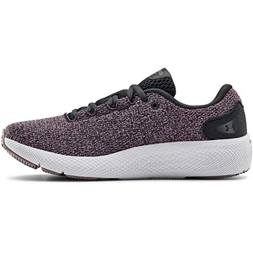 Under Armour Charged Pursuit 2 Twist, Zapatillas para Correr para Mujer, Blackout Purple/Halo Gris/Slate Purple (500), 40 EU
