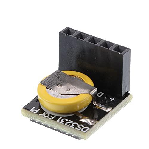 UAlienva DS3231 Präzisions-RTC-Uhrmodul, 1 Pcs Präzisionsuhrmodul, Mini-Echtzeitspeichermodul 3.3V / 5V für Arduino Raspberry Pi (einschließlich 450mAh Batterie)