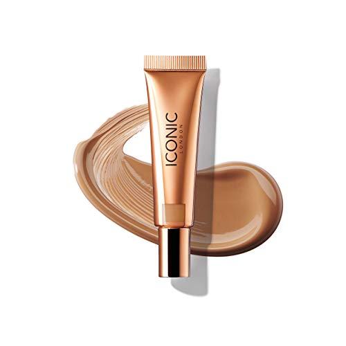 ICONIC London Sheer Bronze - Liquid Bronzer for a Radiant and Luminous Skin, Sun Kiss, 12.5ml