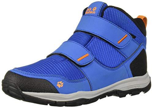 Jack Wolfskin MTN ATTACK 3 TEXAPORE MID VC K Trekking- & Wanderstiefel Unisex-Kinder, Blau (Blue/Orange 1174), 30 EU