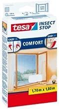 tesa 5 x vliegenhor Insect Stop voor ramen 1,70x1,80m wit