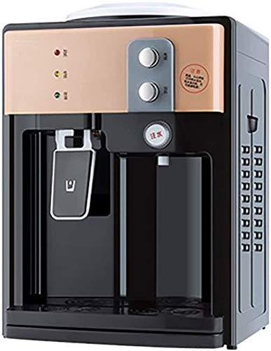 LLDKA Enfriador de Agua embotellada fría de Escritorio Dispensador de Agua Caliente Máquina eléctrica de Agua de Escritorio instantánea de Alta Capacidad Water Cooler Dispenser,Champagne Gold