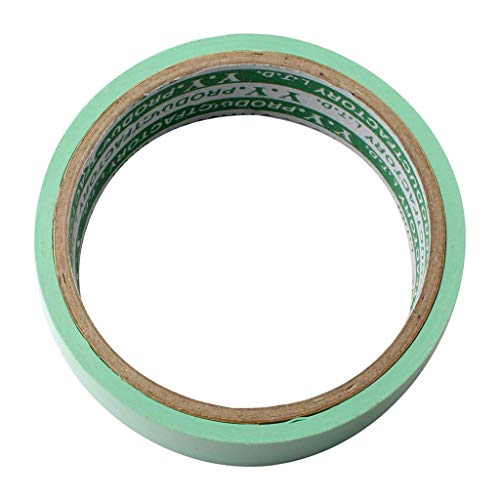lahomia Rollo de Cinta de Llanta Protección de Neumáticos Cinta Antipinchazos de PVC 10 Metros / 33 Pies - Verde Claro, 18mm