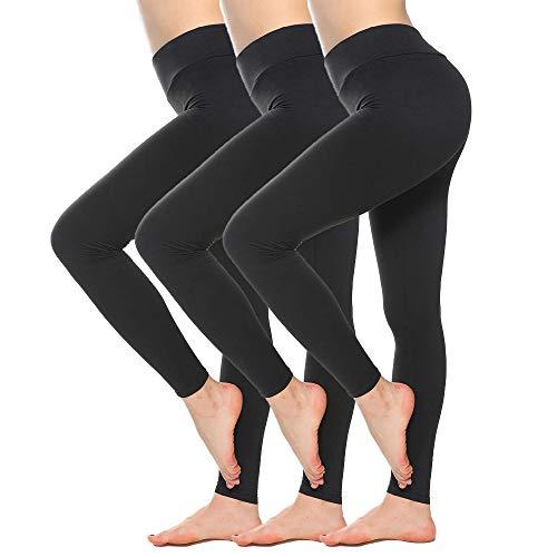SINOPHANT Sport Leggings Damen Mit Hohem Bund Elastische Blickdichte Leggins Mit Bauchkontrolle Große Größen Stretchhose für Workout Gymnastik Yogahose
