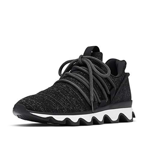Sorel Women's Kinetic Lace Sneaker - Casual - Gradient-Black - Size 5