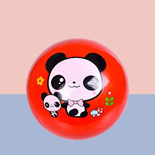 HZBTOY Kinderball, aufblasbarer Spielzeugball Interessantes Spielzeug, rot