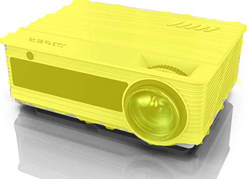 Vidéoprojecteur, YABER 6200 Lumens Vidéo Projecteur Full HD 1080P Natif Soutien 4K, 78,000 H 300' LED Home Cinéma & Travail à Domicile Présentation PPT Compatible Chromecast HDMI AV USB VGA