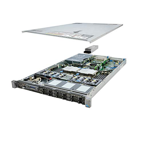 Premium Dell PowerEdge R610 Server 2x 3.33Ghz X5680 6C 48GB (Renewed)