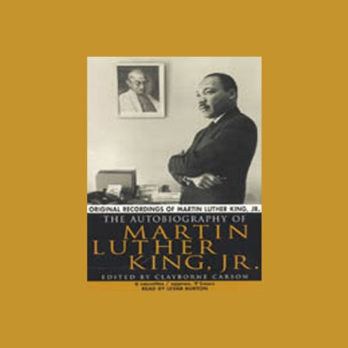 The Autobiography of Martin Luther King, Jr. audiobook cover art