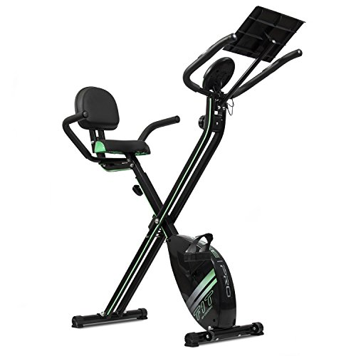 Cecotec Bicicleta Estática Plegable con Volante de Inercia de 2,5 Kg X-Bike Pro. Sistema Silen...