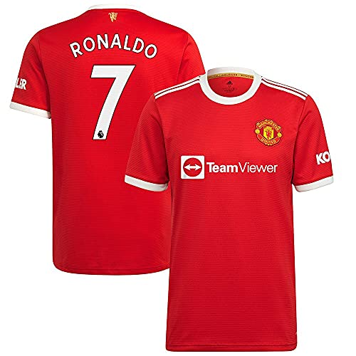 Cristiano Ronal - do CR7 Man-Chester United Soccer Jersey Football 2021 Welcome Short Home Fan Club Gift Sport Soccer Player for Man 7 Womens Kid Funny Printed Graphic Tee Tops Unisex Plus Size