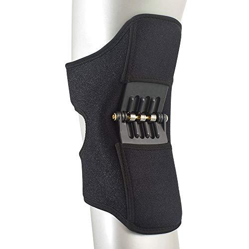 Luopei Rodillera mejorada de segunda generación, rodillera acolchada de silicona, 1 par, rodilleras protectoras, transpirables, antideslizantes, rodilleras