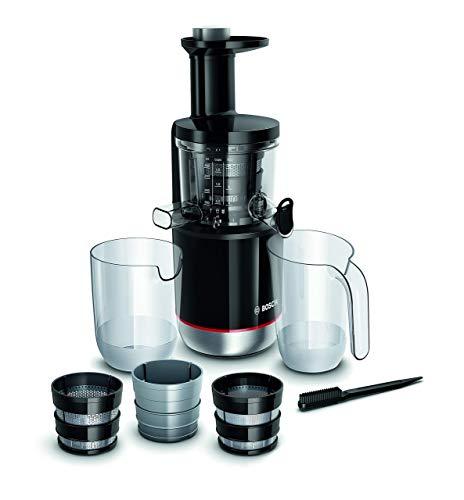 Bosch MESM731M Slow juicer Black 150 W MESM731M, Slow juicer, Black, 55 RPM, 1.3 L, 1 L, 150 W