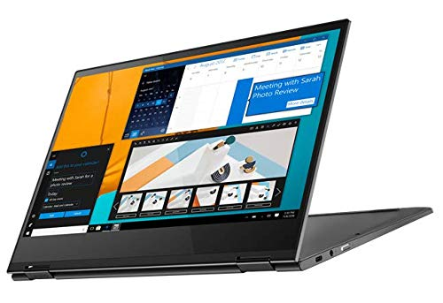 Lenovo Yoga C630 13.3-Inch Covertible Notebook, Full-HD IPS Touchscreen, Windows 10, Qualcomm Snapdragon 850 Octa-Core, 128 GB Storage, 8GB DDR4, 802.11ac, Iron Grey (Renewed)