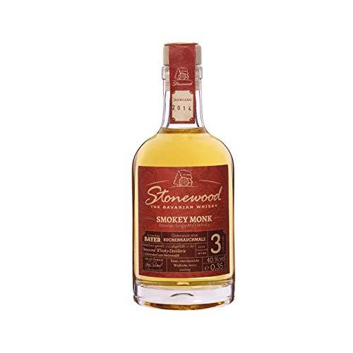 Stonewood Smokey Monk Single Malt Whisky 3 Jahre 0,35l
