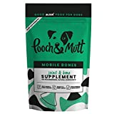 Pooch & Mutt - Health Supplement for Dog Joints (Comfort, Mobility & Strength) - Mobile Bones, 200g