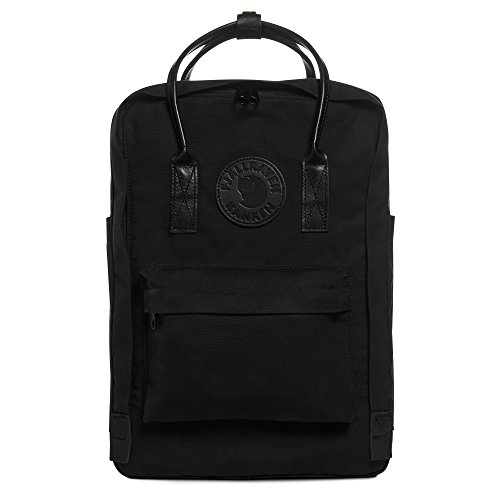 "Fjallraven Kånken No. 2 Laptop 15"" Black Backpack, Unisex Adulto, OneSize"