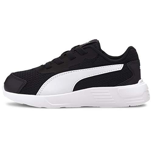 PUMA Taper AC PS, Sneaker Unisex-Bambini, Nero Black White, 31 EU