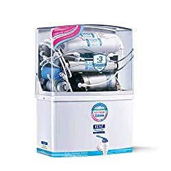 KENT Grand 8-Litres Wall-Mountable RO + UV/UF + TDS Controller (White) 15 litre/hr Water Purifier,KENT,Grand- Old