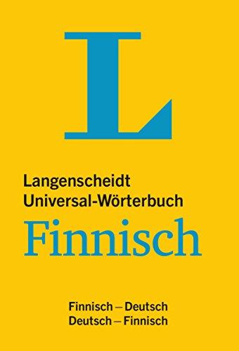 Langenscheidt Universal-Wörterbuch Finnisch - mit Kurzgrammatik des Finnischen: Finnisch-Deutsch/Deutsch-Finnisch (Langenscheidt Universal-Wörterbücher)