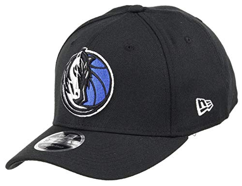 New Era Dallas Mavericks 9fifty Stretch Snapback Cap NBA Essential Black - One-Size